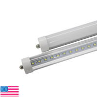Wholesale Dip Cooler - T8 FA8 LED Tube Lights Single Pin led 8FT 45W 4800Lm Bulbs SMD 2835 2400MM 8feet LED Fluorescent tubes lighting 3 years Warranty