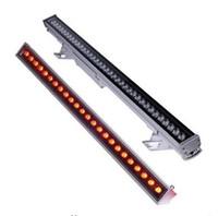 luz de inundación llevada rgb ip67 al por mayor-9W 12W 18W 24W 36W 48W LED Arandela de pared Luz RGB Arandela Etapa Lineal Inundación Luz de tinción Luz de aleación de aluminio impermeable IP67 LLFA