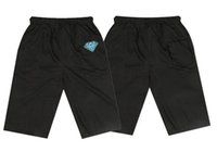 Wholesale Women S Beach Pants Cotton - 2018 fashion diamond men and women beach sports casual loose plus size xxxl hiphop short health pants diamond loose sportwear casual
