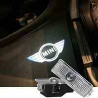 Wholesale Logo Cooper - LED Car Door Welcome Light Laser Car Door Shadow led Projector Logo For Mini countryman clubman cooper one S R36 R56 R57 R58