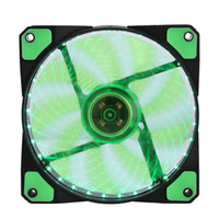 Wholesale 12v fan for cooling for sale - Group buy LED Silent Fans Radiating Heatsink Cooler Cooling Fan For Computer PC Heat sink mm fan Lights V Luminous Pin Pin Plug