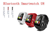 2016 HOT Bluetooth Smartwatch U8 U Montres Montres Montres Smart Watch pour iPhone 4 4S 5 5S Samsung S4 S5 Note 2 Note 3 HTC Android Phone