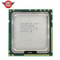 Wholesale Xeon Lga1366 - Intel Xeon W3680 Processor 3.33G Six Core CPU SLBV2 LGA1366 Is equal to the X5680 I7 980 working 100% Free Shipping