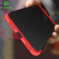 Wholesale Phone Covers Accessories - FLOVEME Cases For Xiaomi Redmi 4X Note 4 4X Luxury 3 in 1 360 Fitted Phone Accessories For Xiaomi 5 5s 6 Max2 Case Cover Capa