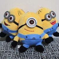 Wholesale Despicable Stuffed Minions - Despicable Me 2 Minions 3D eyes Plush Dolls 12CM Minions Soft Stuffed Animals Plush Toys