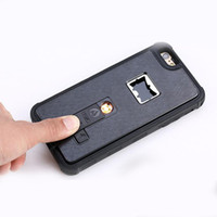 Wholesale opener phone for sale – best For Iphone Phone Cases New Patent Iphone Case With Bottle Opener And Light Cigarette Function For Iphone S plus
