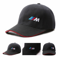 Wholesale baseball caps m resale online - Good Quality Men Fashion Cotton Car logo M performance Baseball Cap hat for bmw M3 M5 X1 X3 X4 X5 X6 i Z4 GT li E30 E34 E36 E38