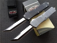 "Wholesale Hunting Knife Sets - Microtech Marfione Custom Combat Troodon Hellhound Tanto Knife dual action (3.8"" two-tone) A07 A161 A162 Ultratech tactical knives"