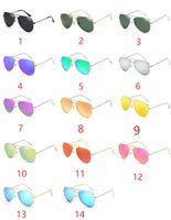Wholesale Polarized Film Lenses - 2017 new high-quality sunglasses, color film reflective sunglasses, polarized sunglasses wholesale DHL free shipping
