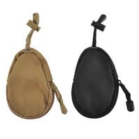 Wholesale Unique Wallet Chains - Mini Bag Unisex Unique Design Money Card Key Wallets Pouch Military Purse Bag Pocket Chains Case Holder 2509026