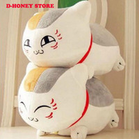 Wholesale 33cm Natsume Yuujinchou Nyanko Sensei Plush Cat Anime Doll Toy Xmas Christmas Gift toys for kids