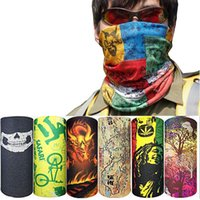 Wholesale Neck Warmer Scarf Sport - 100% new Magic Headband Outdoor Sports Neck Warmer Cycling Bike Bicycle Riding Face Mask Head Scarf Scarves Bandana free ship
