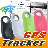 Wholesale Voice Gps - Mini Wireless Phone Bluetooth 4.0 No GPS Tracker Alarm iTag Key Finder Voice Recording Anti-lost Selfie Shutter For ios Android Smartphone