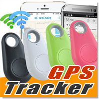Wholesale Gps Anti Lost Alarm - Mini Wireless Phone Bluetooth 4.0 No GPS Tracker Alarm iTag Key Finder Voice Recording Anti-lost Selfie Shutter For ios Android Smartphone