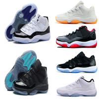 Wholesale Men Threading - 2016 man basketball shoes air retro 11 XI Citrus 72-10 white Olympic Concord Gamma Blue Varsity Red Navy Gum Sneaker Metallic Gold sneakers