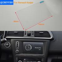 Wholesale Renault Navigation Car - Car Styling 7 Inch GPS Navigation Screen Steel Protective Film For Renault Kadjar Control of LCD Screen Car Sticker 2016-2017