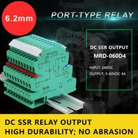 Wholesale Dc Control Solid State Relay - MRD060D4 DC SSR Ouput Ultra-slim Interface Relay With Input Control Voltage 24VDC Industrial Relay Module High Durability