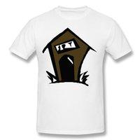 Wholesale House Discount - House Bar White Shirt For Men Mens Designer Youth Custom Tee Shirts Youth Cotton Costume T-Shirt Discount Cotton Funny Geek T Shirts