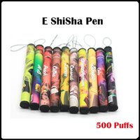 Wholesale cigars electronics for sale - ShiSha Pen Puffs Disposable E Cigarette Electronic vaporizer pen Fruit Cigar flavor hookah