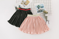 Wholesale Kids Ballet Clothes - Cute Girls Skirts Pleated Ruffle Children Skirt Fashion Girls Clothes kids Ballet Skirts Child Clothing Toddler Clothes Baby Clothing A662