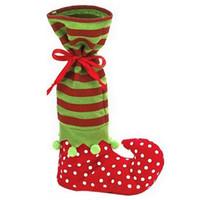chocolate de navidad al por mayor-Favorables suministros de decoración de Navidad del festival Súper divertido regalo de Navidad bolsa de arranque en forma de caramelo de chocolate de la bolsa de chocolate 35 * 20 cm IC830