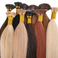 Wholesale Lowest Price Hair Extensions - 200strands Professional Salon using Keratin fusion prebond hair extension I TIP U TIP V TIP lowest price