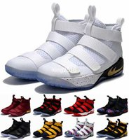 Wholesale Limited Edition Sneakers Man - 2017 Special Limited Edition James Soldiers 11 Basketball Shoes For Men High Quality Man-at-arms XI Soldier 11s LBJ Sports Training Sneakers