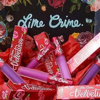 Wholesale Lime Crime Wholesale - Wholesale Stock Lime Crime 61 Colors Lip Gloss Waterproof Matte Up lipstick Nonstick Cup Lipstick Free Shipping