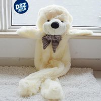 Wholesale Empty Teddies - Wholesale- Factory wholesale unstuffed teddy bear 200CM life size big plush animal skins Wedding Gift Shell empty giant plush toys coat