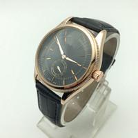 Wholesale Small Seconds Watch - 2017 New high quality fashion designer Small second hand work fashion Watches AAA luxury Brand Men Wrist Watch atmos clock men Quartz watch