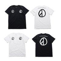 Wholesale Kpop Fashion Men - Kpop Bigbang G-Dragon Peaceminusone T shirt High Quality GD Brand Peaceminusone Mens Shirts Tee Cotton T-Shirt