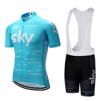 Wholesale Washed Clothes - 2017 Pro Team Cycling Jerseys Summer Short Sleeve Cycling Clothing Breathable Bike Jersey Anti Pilling Bicycle Clothes Ciclismo BX-S001