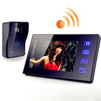 """Wholesale Wireless Intercom Waterproof Camera - New 7"""" Wireless Video Door Phone Doorbell Intercom with Waterproof IR Camera hot"""