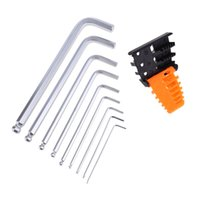 Wholesale Allen Wrench Metric Set - High Quality 9PCS set Durable Reinforced Toughen Metric Ball Ended Hex Allen Key Wrench Set