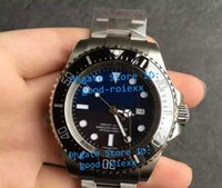 Wholesale Sapphire Sea Crystal - Top Noob Factory V7 Version Mens Automatic Sapphire Crystal Watch Ceramic Bezel Date Eta 2836 Watches Men Luminous Dive Sea Wristwatches