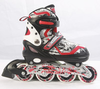 Wholesale Hot Sell Skate - Semi soft adjustable inline skate with hot selling for children and adults
