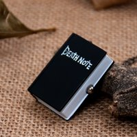 Wholesale Death Note Pocket Watch - Death Note Antique quartz pocket watches necklace ,christmas gift 5pcs   lot 2141