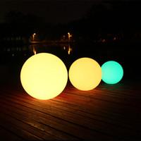 Wholesale Floating Lights For Ponds - Multi-Color LED Ball Light, AGPtEK RGB-Colors Floating Waterproof Mood Light for Garden Decoration Pool Pond Party