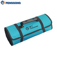 Wholesale Electrical Storage - Wholesale-Reels Storage Tools Bag Multifunction Utility Bag Electrical Package Oxford Canvas Waterproof With Carrying Handles