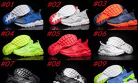 Wholesale Gray Burst - 2017 Burst section! 2016 New Air Huarache Ultra Breathe All Red Mesh Running Shoes Men &Women Huaraches Trainer Athletics Sneakers Kids