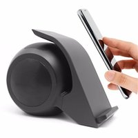 Wholesale Stands For Tablet Computers - WN1 Bluetooth Speaker Wireless Speaker & Phone Holder Portable NFC Qi Charger Stand for Mobile Phone Tablet PC