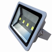 Wholesale rgb led flood lights outdoor - Outdoor Led Floodlight 200W LED Flood Light Waterproof Wash Flood 85-265V Street Lamp Luminaire Tunnel Lights RGB Warm Cool White Light