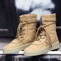 Wholesale rainboots sale - new Hot Sale Kanye West Suede winter plus velvet warmth Snow boost discount cheap 750  950 boots men Women Boots unisex Martin Boot