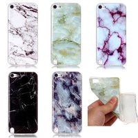 Wholesale Itouch Soft Silicone Case - New Fashion Granite Marble Stone image Painted Soft Silicone IMD TPU Cover For Apple iPod touch 5 6 itouch 5 itouch 6 Fundas Phone Cases