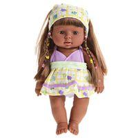 Wholesale Dolls Speak - cycle 28cm Cute Reborn Baby Doll Soft Vinyl Silicone Lifelike Accompany Doll Lovely Newborn Baby Speaking Sound Toy 319P