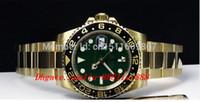 dateikästen großhandel-Luxus-Armbanduhr NEU Sapphire Green Index 116718 CERAMIC automatische Herren Herrenuhr Uhren Original-Box-Dateien