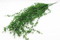 Wholesale Ornamental Wall - Simulation lover wall hanging ornamental rattan vines plastic simulation plant green planting 20pcs   lot