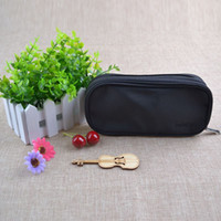 Barrel Shaped Travel Cosmetic Bag Nylon High Capacity Drawstring Elegante Drum Wash Bags Sacola de armazenamento de organizador de maquiagem