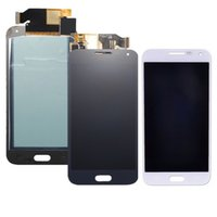 Wholesale Lcd Tft Capacitive - for Samsung Galaxy E5 E500 E500F LCD Display Digitizer Screen Assembly Replacement withT ouch TFT bright disadjustment