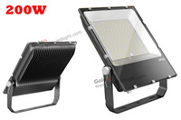 Wholesale Fedex Park - Wholesale- 2016 new hot sale outdoor head LED flood lighting 200W 100-277V for parking lot square sport courts stadium fedex free shipping